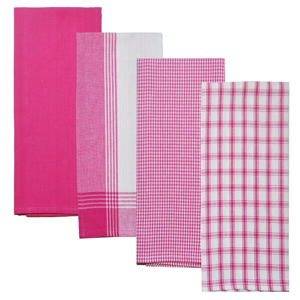 Buy Pink Kitchen Towels Online at Overstock | Our Best Table ...