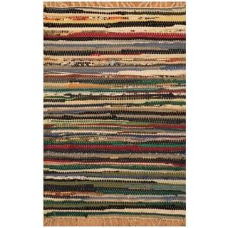 Handmade Wool Kilim (India) - 1'5 x 2'