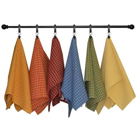 Dunroven House Windowpane Tea Towels Set of 3