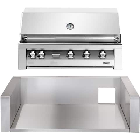 42-In. Built-In Natural Gas Grill in Stainless with Insulated Jacket