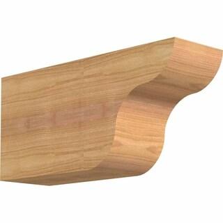 Carmel Smooth Rafter Tail, Western Red Cedar