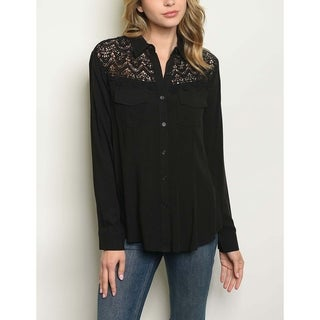 f739751c Rayon, Button Down Tops | Find Great Women's Clothing Deals Shopping at  Overstock