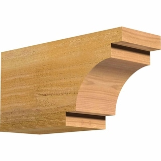 Mediterranean Rough Sawn Rafter Tail, Western Red Cedar
