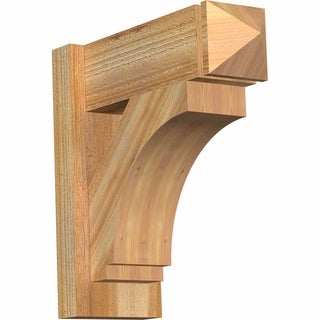 Imperial Rough Sawn Arts and Crafts Outlooker, Western Red Cedar