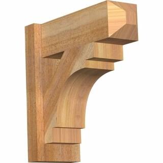 Merced Rough Sawn Craftsman Outlooker, Western Red Cedar