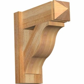 Funston Rough Sawn Arts and Crafts Outlooker, Western Red Cedar