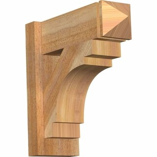 Merced Rough Sawn Arts and Crafts Outlooker, Western Red Cedar