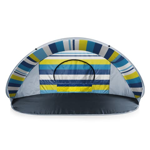 Manta Portable Beach Tent, (Beach Stripes) - N/A - N/A