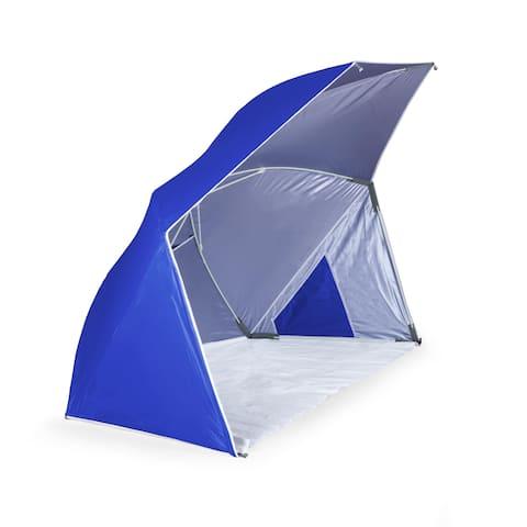 Brolly Beach Umbrella Tent, (Blue)