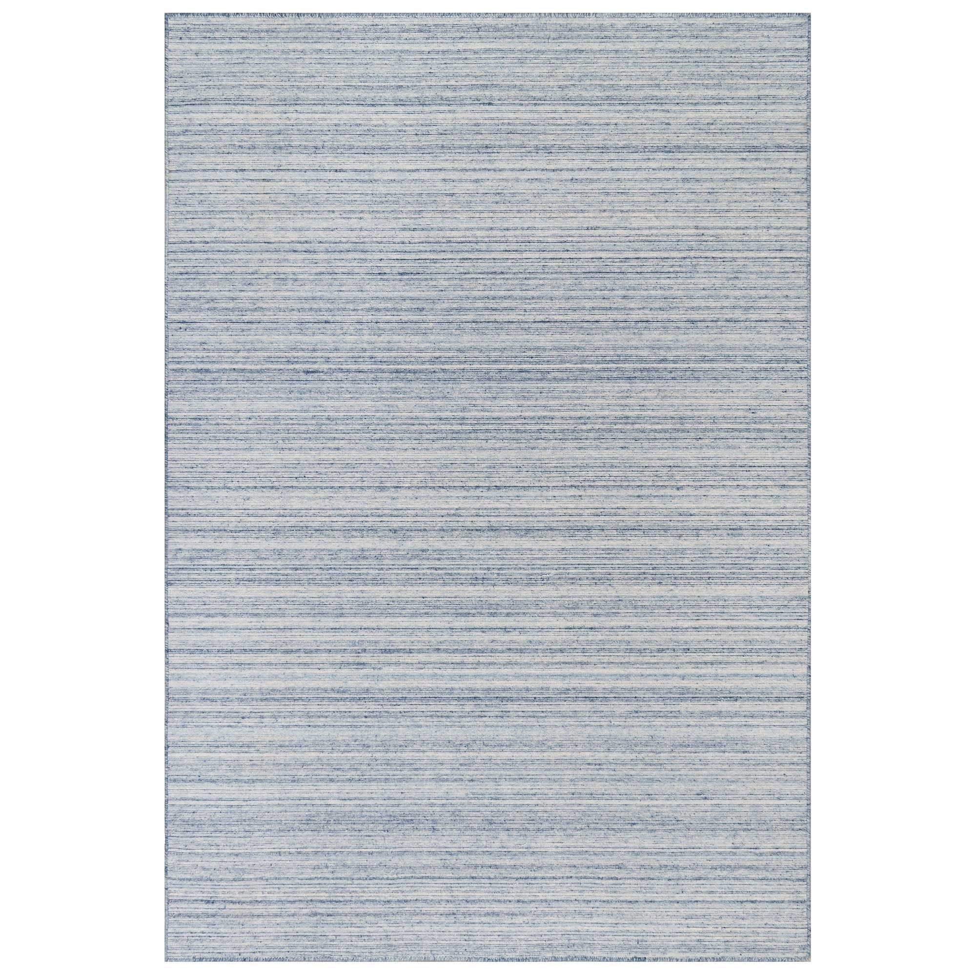 Liora Manne Dakota Stripe Indoor Outdoor Rug Blue