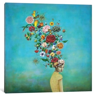 """iCanvas """"A Mindful Garden"""" by Duy Huynh"""