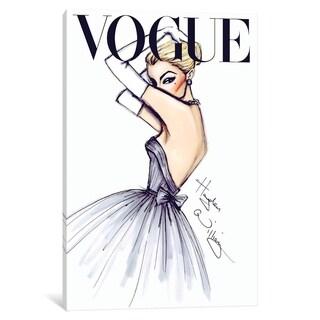 """iCanvas """"J'adore Vogue"""" by Hayden Williams"""