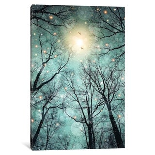 """iCanvas """"Mint Embers - Trees"""" by Soaring Anchor Designs"""