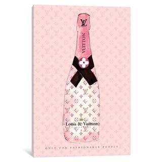 """iCanvas """"Louis Vuitton Champagne"""" by Mercedes Lopez Charro"""