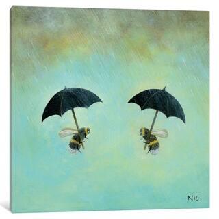 "iCanvas ""Rainy Day Conversation"" by Neil Thompson"