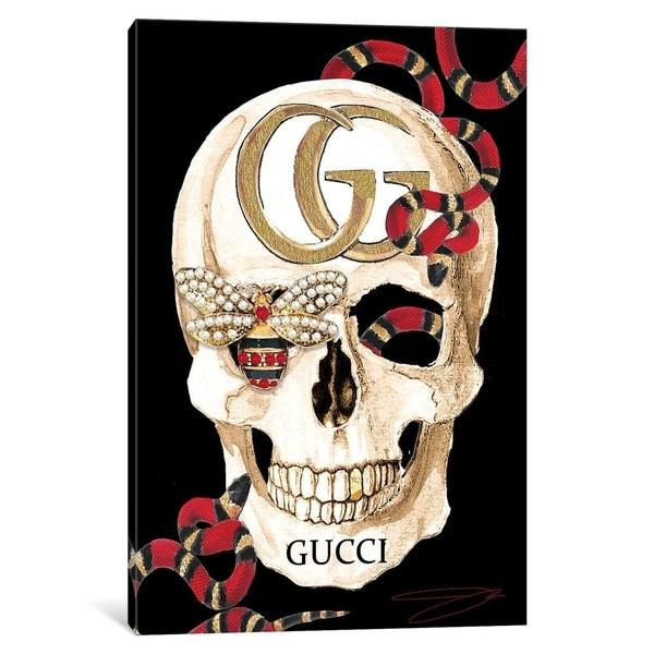 """Porch & Den """"Gucci Skull II"""" Wall Art"""