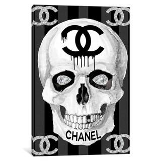 """Porch & Den """"CC Skull"""" Wall Art"""