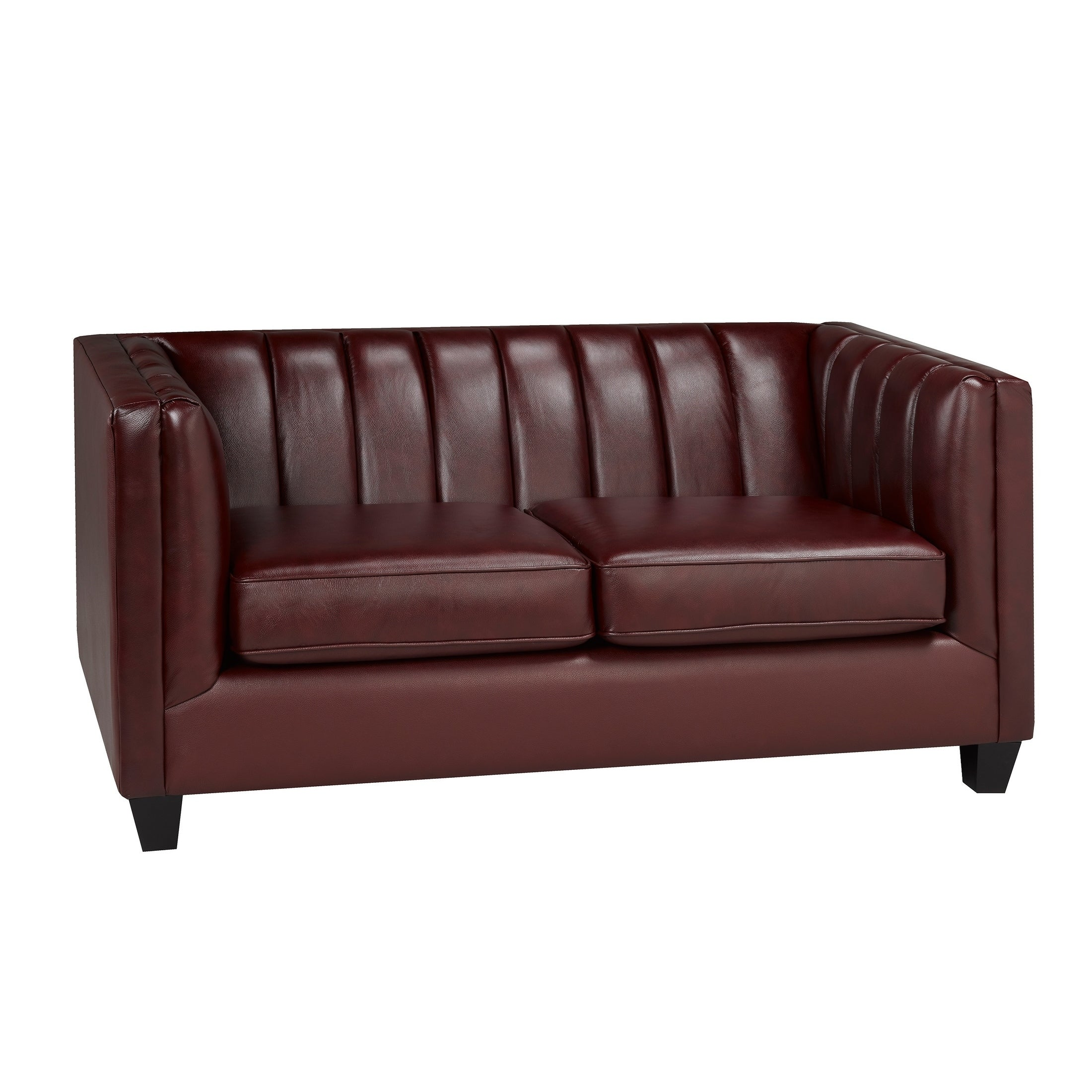 Outstanding Hastings Top Grain Leather Loveseat Andrewgaddart Wooden Chair Designs For Living Room Andrewgaddartcom