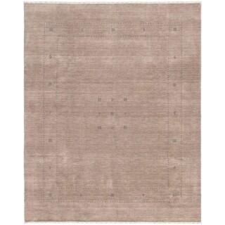 ECARPETGALLERY  Kashkuli Gabbeh Grey  Rug - 8'2 x 10'2