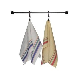Dunroven House Vintage Stripe Border Kitchen Towel, Set of 3