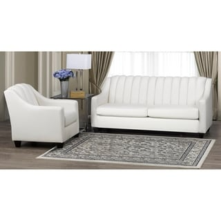 Edgware Top Grain Leather Sofa and Armchair Set