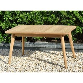 Link to Nordic Patio Teak Wood Rectangular Coffee Table. 100% Teak Wood Similar Items in Outdoor Coffee & Side Tables