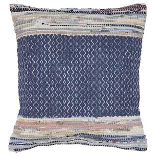 LR Home Modern Chindi Throw Pillow 18 Inch