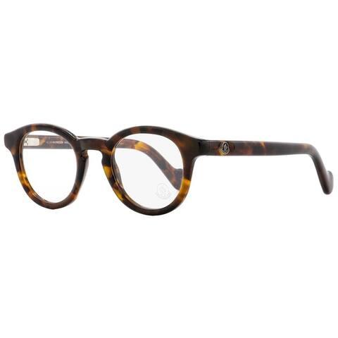 Moncler ML5002 052 Mens Dark Havana 46 mm Eyeglasses - Dark Havana