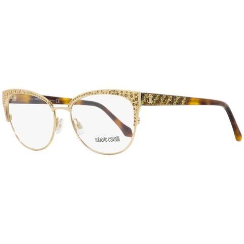 Roberto Cavalli RC5001 Abbadia A28 Womens Gold/Havana 55 mm Eyeglasses