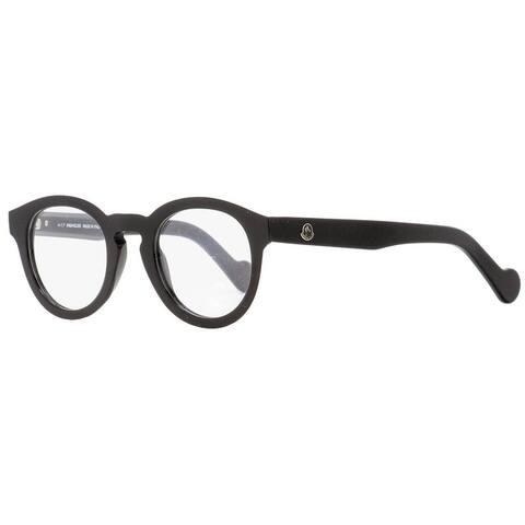 Moncler ML5006 001 Mens Shiny Black 48 mm Eyeglasses - Shiny Black