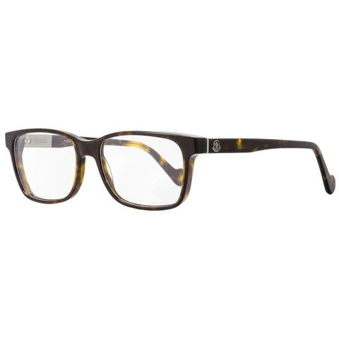 Moncler ML5012 052 Mens Dark Havana 54 mm Eyeglasses - Dark Havana