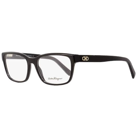 Salvatore Ferragamo SF2790 001 Mens Shiny Black 54 mm Eyeglasses - Shiny Black