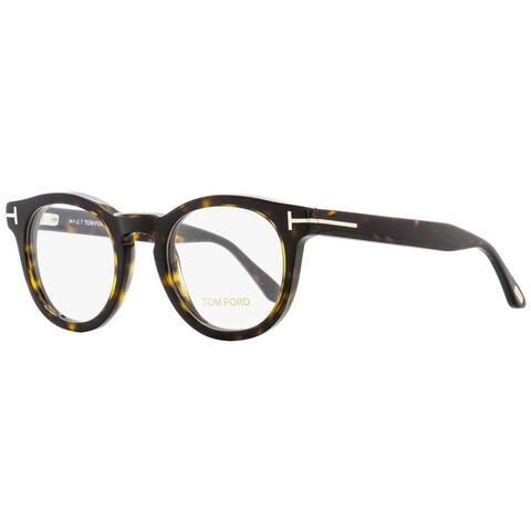 Tom Ford TF5489 052 Mens Dark Havana 48 mm Eyeglasses - Dark Havana