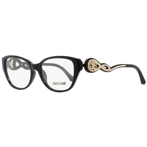 Roberto Cavalli RC5029 Camaiore 001 Womens Black/Gold 54 mm Eyeglasses