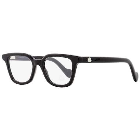 Moncler ML5001 001 Mens Black 49 mm Eyeglasses