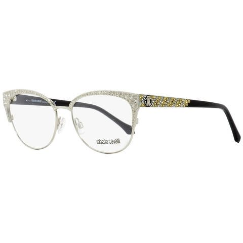 Roberto Cavalli RC5001 Abbadia 016 Womens Palladium/Black 55 mm Eyeglasses