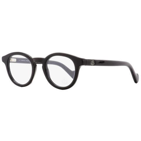 Moncler ML5002 001 Mens Shiny Black 46 mm Eyeglasses - Shiny Black