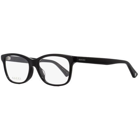 Gucci GG0162OA 001 Unisex Black 55 mm Eyeglasses