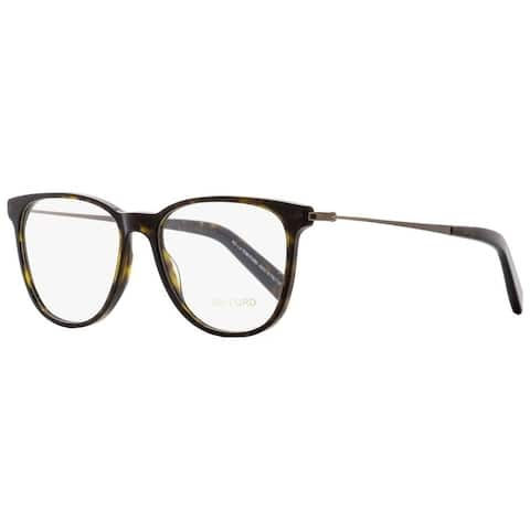 Tom Ford TF5384 052 Unisex Dark Havana/Brown 51 mm Eyeglasses - Dark Havana/Brown
