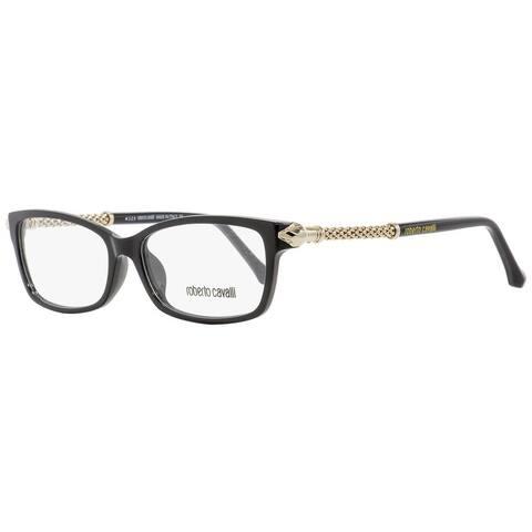 Roberto Cavalli RC5020 Bientina 001 Womens Black/Gold 54 mm Eyeglasses