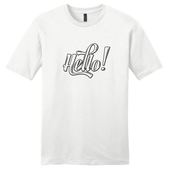 Hello! T-Shirt - Unsiex Quote Shirt
