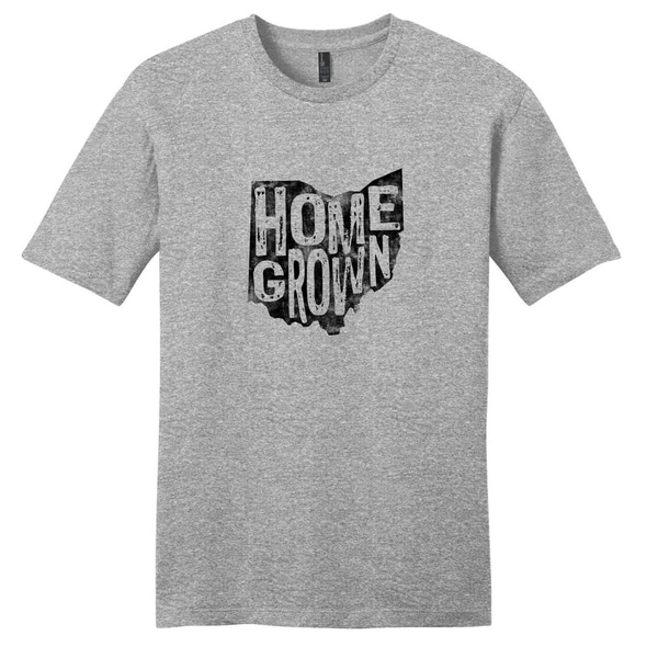 Homegrown Ohio Unisex T-Shirt - Unisex Fit State Pride Shirt