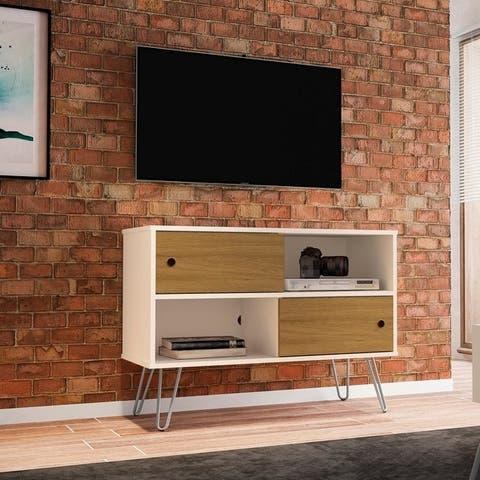 Carson Carrington Ulriksfors Mid-century Modern 35.43-inch TV Stand