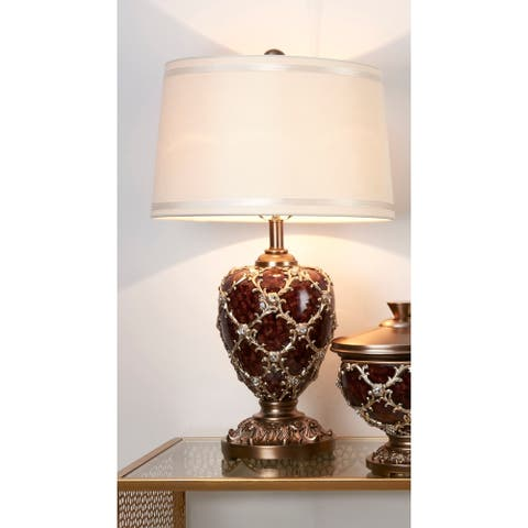 28.75 in Curvae Stencil Table Lamp