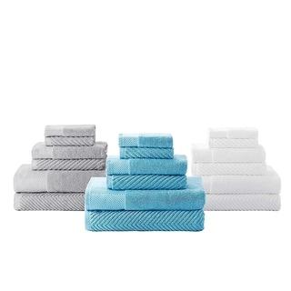 Quick Dry Towel Set - 6 Piece 100% Cotton