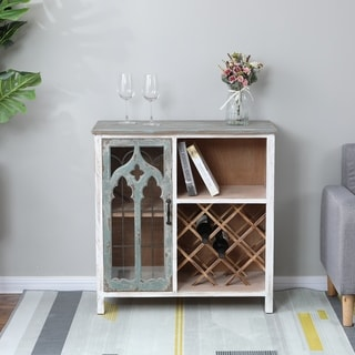 Link to Shabby-Chic Distressed Storage and Wine Cabinet Similar Items in Kitchen Storage