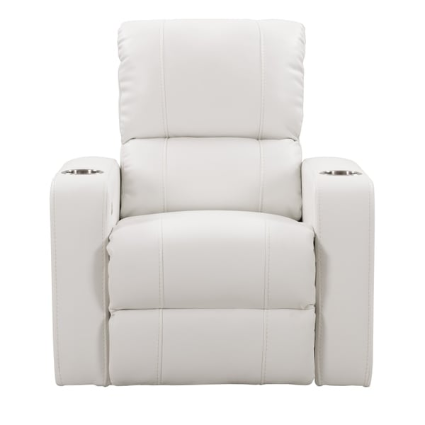 Bon CorLiving Leather Gel Home Theatre Power Recliner With USB Port