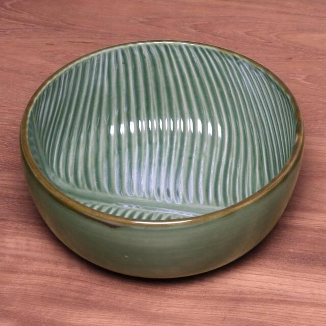 Banana Vibes Ceramic serving bowl (9 inch