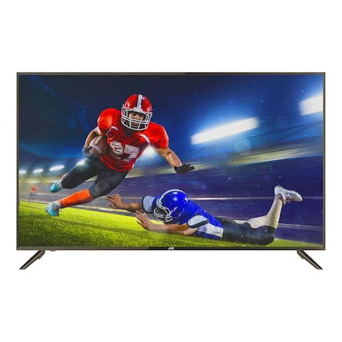 "Refurbished JVC 55"" Class 4K Ultra HD (2160P) HDR Smart LED TV with Built-in Chromecast (LT-55MA875)"