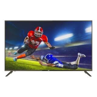 "Refurbished JVC 55"" Class 4K Ultra HD (2160P) HDR Smart LED TV with Built-in Chromecast (LT-55MA875)"